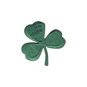 Embroidered Stock Appliques - 3 Leaf Clover