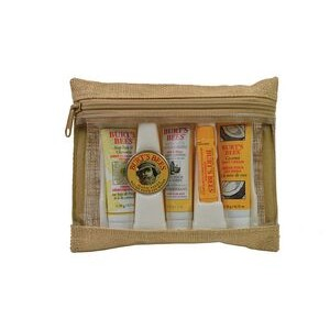 Jute Envelope Burt's Bees Essential Kit
